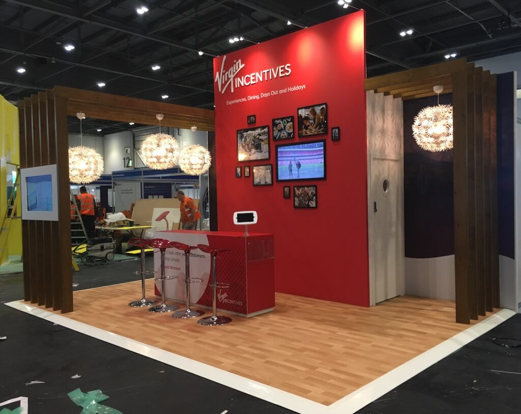 Virgin Incentives stand 2018